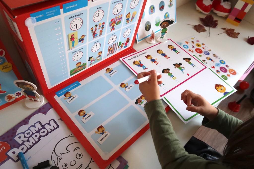 Speel en leer met Schooltje spelen Rompompom