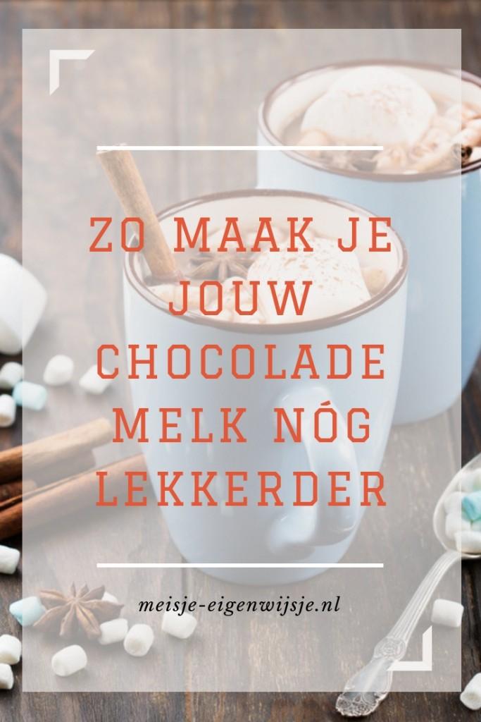 chocolade melk variaties