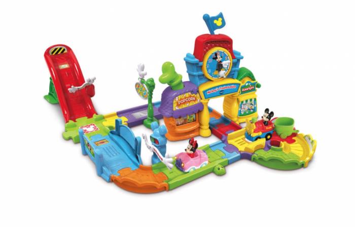 Mickey's treinstation van Vtech