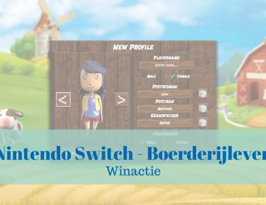 Nintendo switch boerderijleven