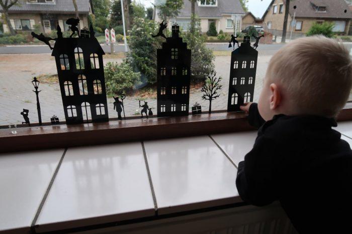 leuke raamdecoratie raamstickers sinterklaas