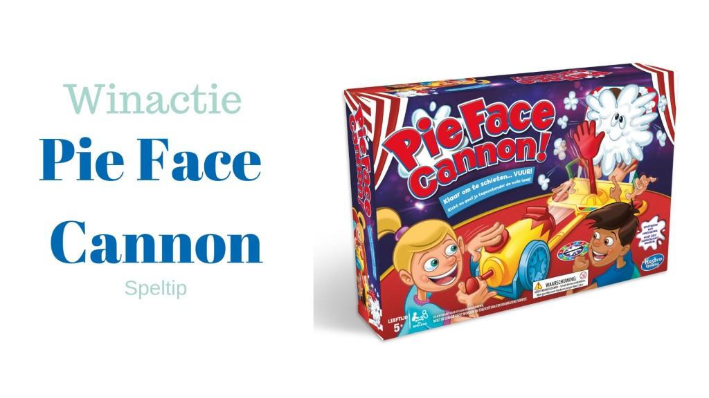 winactie pie face cannon