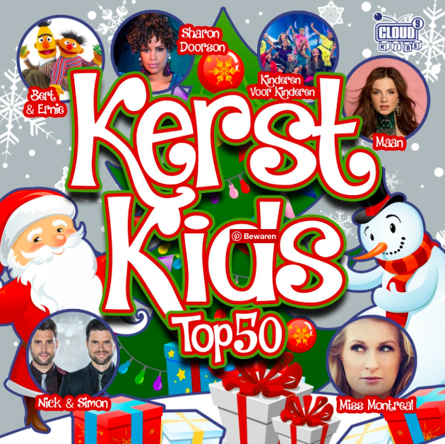 kerst kids top 50 cd