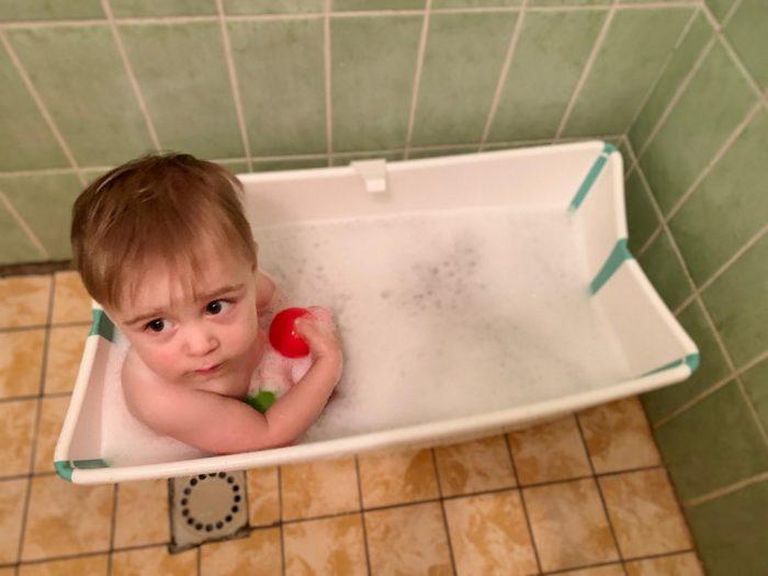 opvouwbaar badje Stokke