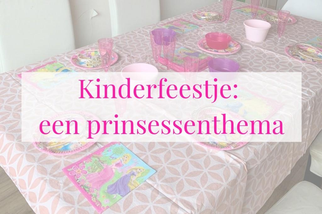 kinderfeestje prinsessen