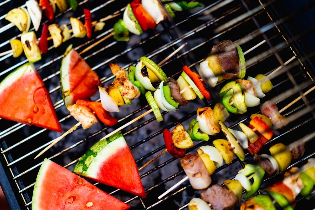groente grillen bbq