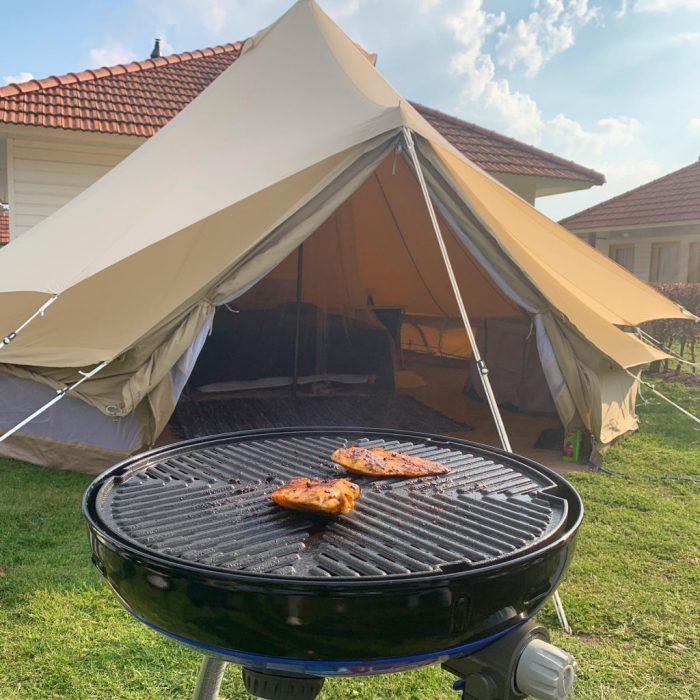 kampeerspullen verhuur bell tent