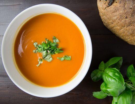 soupmaker recept tomaat paprika soep